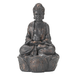 Solar Powered Bronze Buddha Spotlights