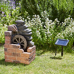 Small Image of Smart Solar Heywood Mill Solar Water Feature