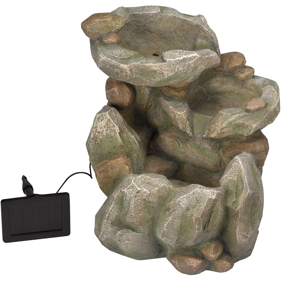 Extra image of Rock Fall Fountain Solar Water Feature