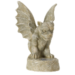 Solar Powered Gargoyle Spotlight