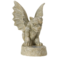 Image of Solar Powered Gargoyle Spotlight