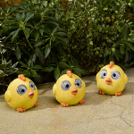 Solar Powered Bright Eye Happy Chicks - Set of Three