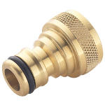 "Small Image of Spear & Jackson Brass 5/8"" Female Threaded Tap Connector"