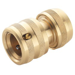 "Image of Spear & Jackson Brass 1/2"" Female Hose Connector"