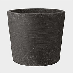 Small Image of Stewart 40cm Varese Low Planter in Granite