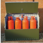 Small Image of Lockable Senturion Gas Bottle Storage - 447