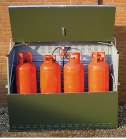 Image of Lockable Senturion Gas Bottle Storage - 447