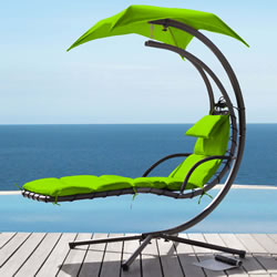 Small Image of Helicopter Dream Chair Lime Green