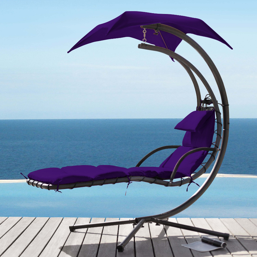 Helicopter Dream Chair Purple - £141.56 | Garden4Less UK Shop