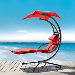 Small Image of Helicopter Dream Chair Red