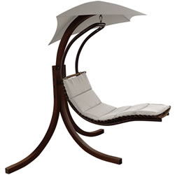 Small Image of Riva Wooden Dream Chair Ecru