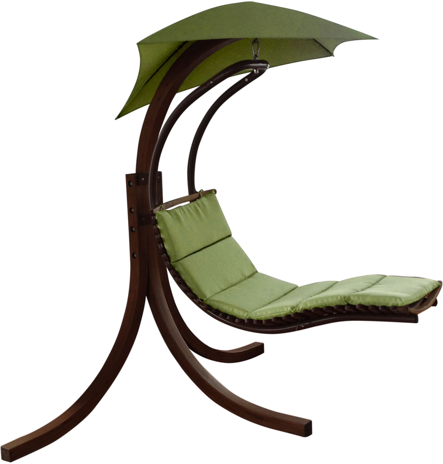 Riva Wooden Dream Chair Lime Green £180