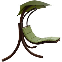 Small Image of Riva Wooden Dream Chair Lime Green