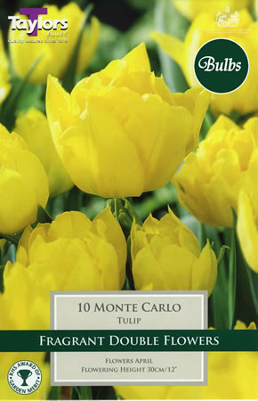 Image of Monte Carlo - Double Early Tulip Bulbs