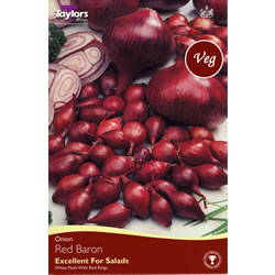 Small Image of 50 Onion Sets - Red Baron (Spring Planting)