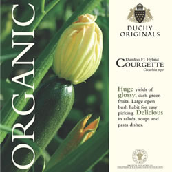Image of Duchy Originals Dundoo F1 Hybrid Courgette Seeds