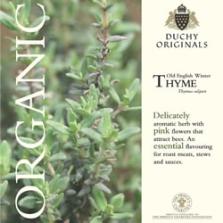 Image of Duchy Originals Old English Winter Thyme Herb Seeds