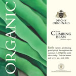 Duchy Originals Helda Climbing Bean Seeds