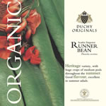 Duchy Originals Scarlet Emperor Runner Bean Seeds