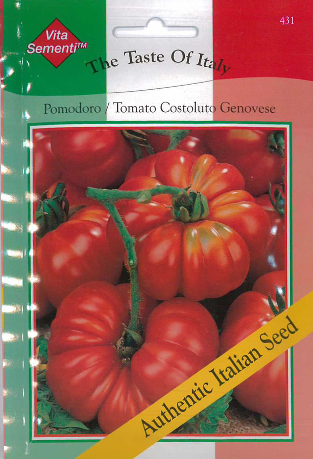 Italian Pomodoro Costoluto Genovese Tomato Seeds 163 2 59