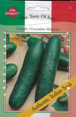 Italian tondo di toscana courgette seeds for Cetriolo tondo
