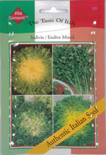 Small Image of Italian Indivia Mixed Endiva Seeds