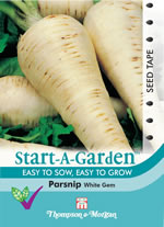 Small Image of Start A Garden Parsnip Seeds White Gem