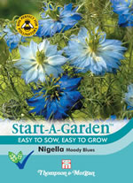 Small Image of Start a Garden Nigella Moody Blues