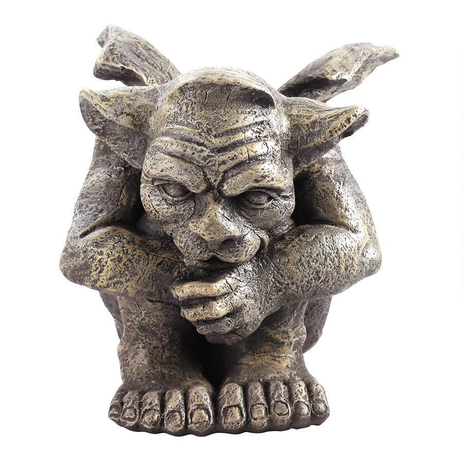 Extra image of Emmett the Gargoyle Garden Ornament by Design Toscano
