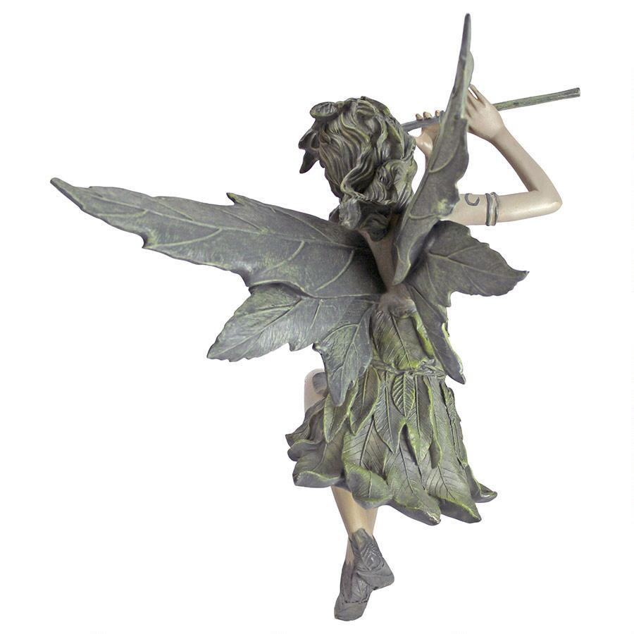 Extra image of Fairy of the West Wind Garden Ornament by Design Toscano