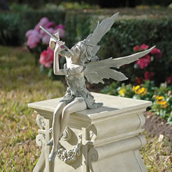 Small Image of Fairy of the West Wind Garden Ornament by Design Toscano