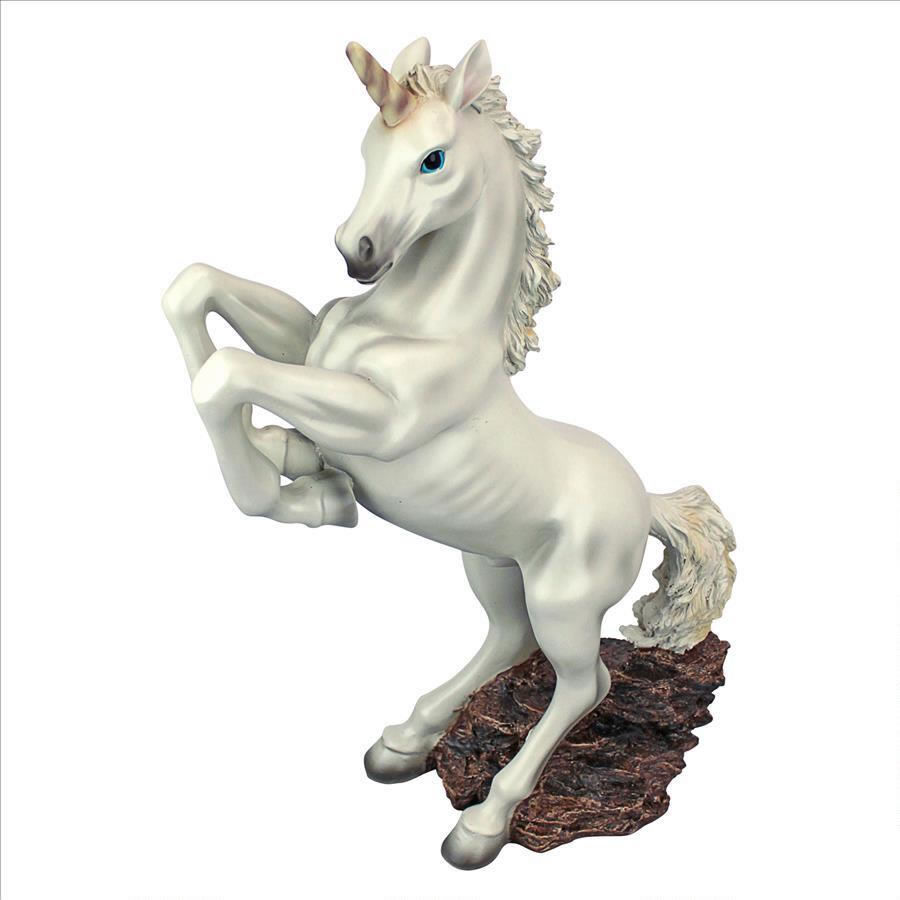 Extra image of The Enchanted Unicorn Resin Garden Ornament by Design Toscano