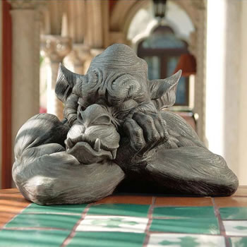 Image of Goliath the Gargoyle Resin Ornament by Design Toscano