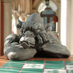 Small Image of Goliath the Gargoyle Resin Ornament by Design Toscano