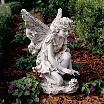 Image of Fiona the Flower Fairy Garden Ornament Statue
