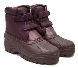Image of Town & Country Aubergine Charnwood Wellington Short Boots - UK Size 7 / Euro 40/41