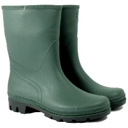 Image of Town and Country Half Length Essentials Wellies - UK Size 10 / Euro 44