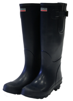 Image of Bosworth Navy Town & Country Wellies - UK Size 8 / Euro 42