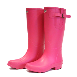 Image of Bosworth Raspberry Town & Country Wellies - UK Size 8 / Euro 42