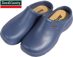 Image of Town & Country Navy Eva Cloggies