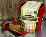 Extra image of GardenPop Chilli Growing Kit - With Seed Propagator