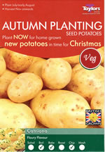 Autumn Planting Seed Potatoes - Catriona