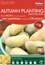 Autumn Planting Seed Potatoes - Charlotte