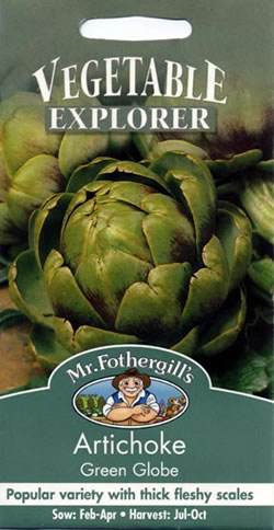 Image of Vegetable Explorer Green Globe Artichoke Seeds