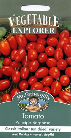 Image of Vegetable Explorer Principe Borghese Tomato Seeds