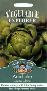 Small Image of Vegetable Explorer Green Globe Artichoke Seeds