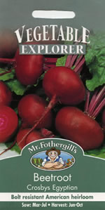 Small Image of Vegetable Explorer Crosbys Egyptian Beetroot Seeds