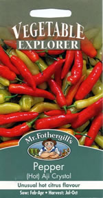 Small Image of Vegetable Explorer Aji Crystal (Hot) Pepper