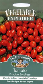 Small Image of Vegetable Explorer Principe Borghese Tomato Seeds