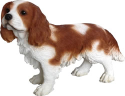 Image of King Charles Spaniel - Resin Garden Ornament
